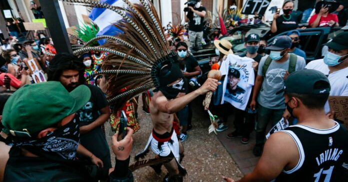 Andres Guardado: Protesters demand to know why 18-year-old was shot by deputies