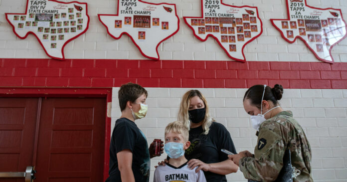 Texas Governor Reverses Course and Orders Face Masks